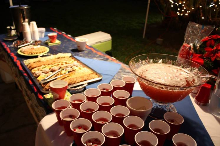Refreshments on select Candlelight Tours