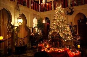Zorayda interior Candlelight Tour